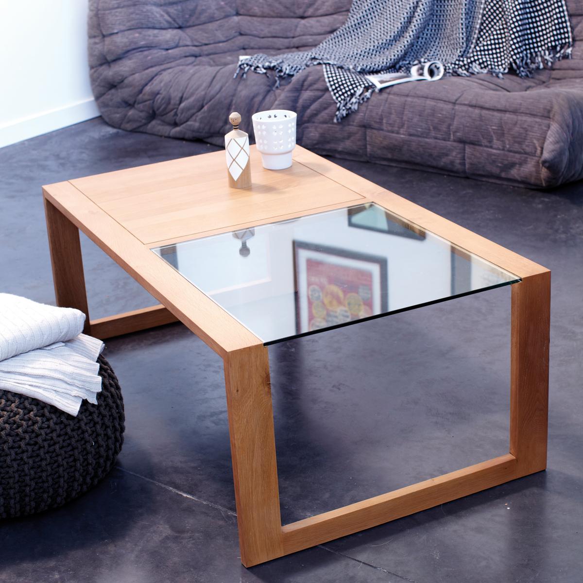 An Oak Coffee Table