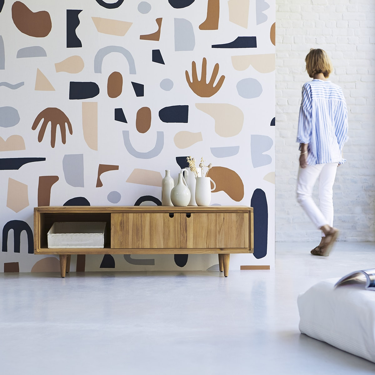 Wallpaper, a style statement